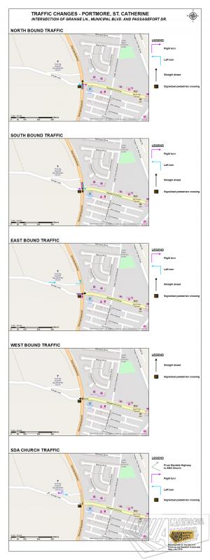 Traffic Changes At Grange Lane Municipal Boulevard