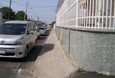 Maxfield Avenue new sidewalk